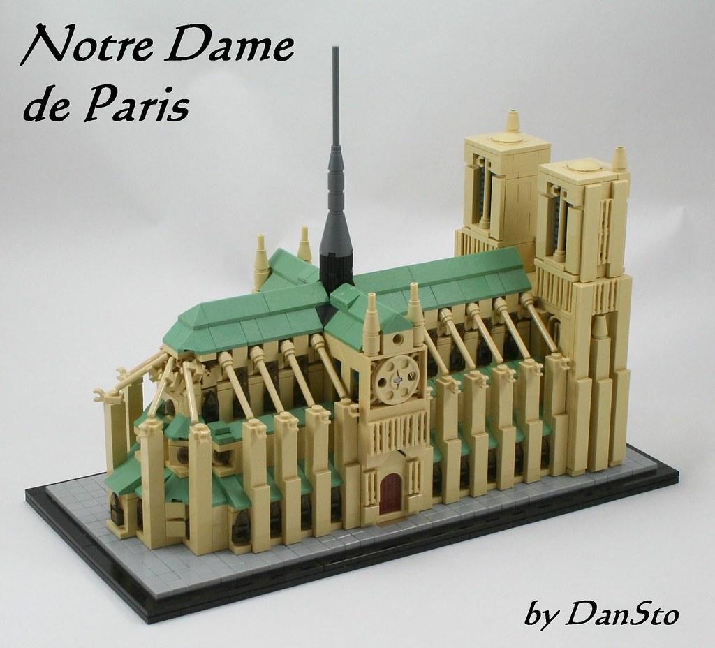 Notre Dame de Paris (LEGO Architecture)