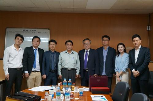 圖08.本會代表團拜訪韓國國際勞動協力院