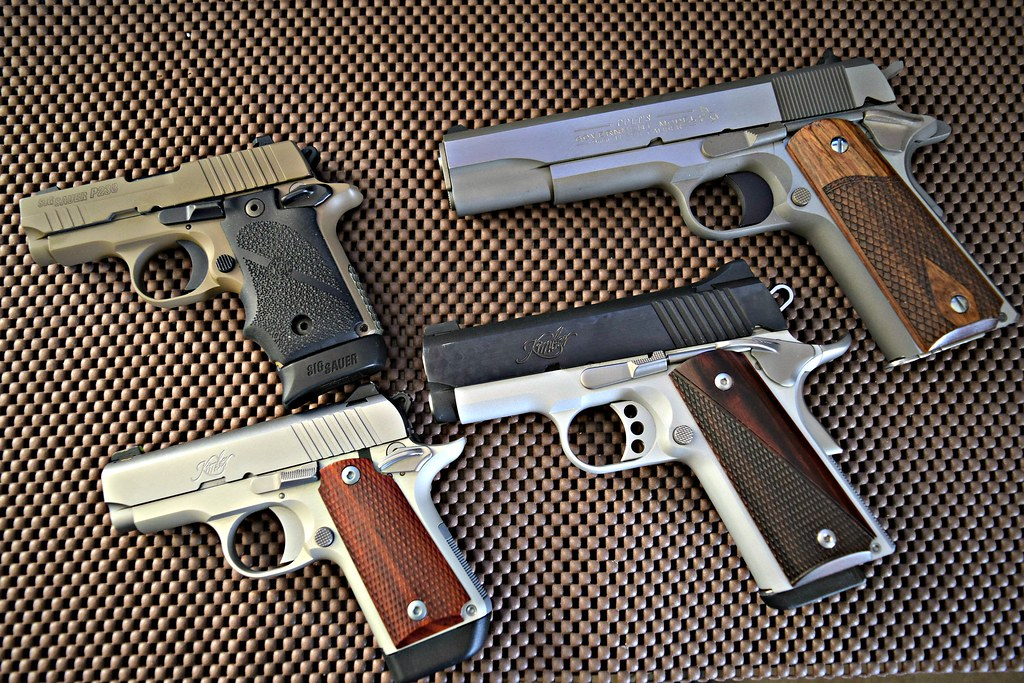 1911s | SIG P238 380 Colt 9 MM Kimber Micro 380 Kimber Ultra… | Flickr