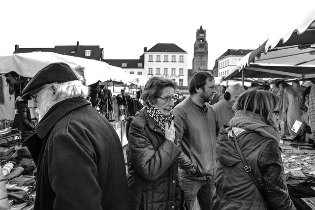 The Saturday Market - 't Zand Square, Brugge/Bruges