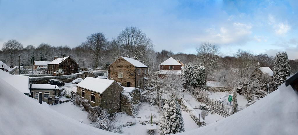 snow pano 2 by SimonButlerPhotography