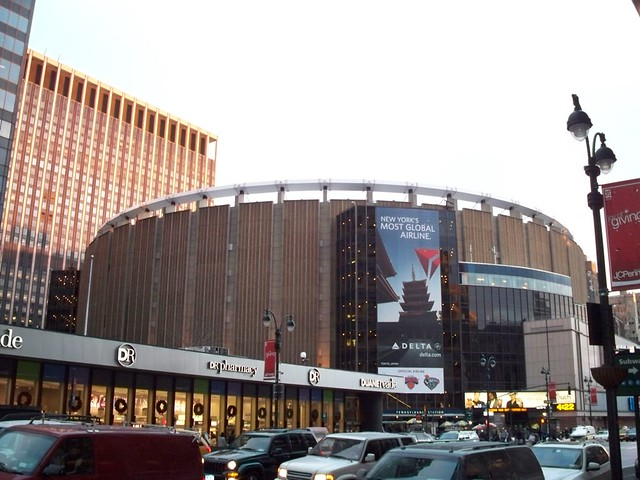 Madison Square Garden From The Outside Inside Is Much Muc Flickr