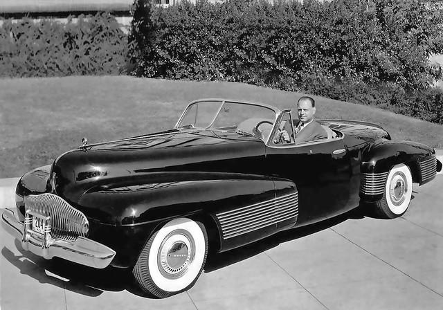 "1939 ... Harley Earl and ""The Y Job"""