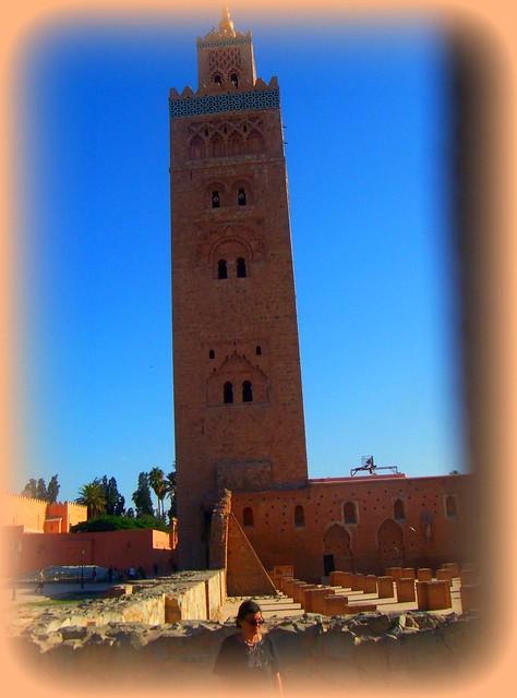 Morocco- church Koutoubia MARRAKECH