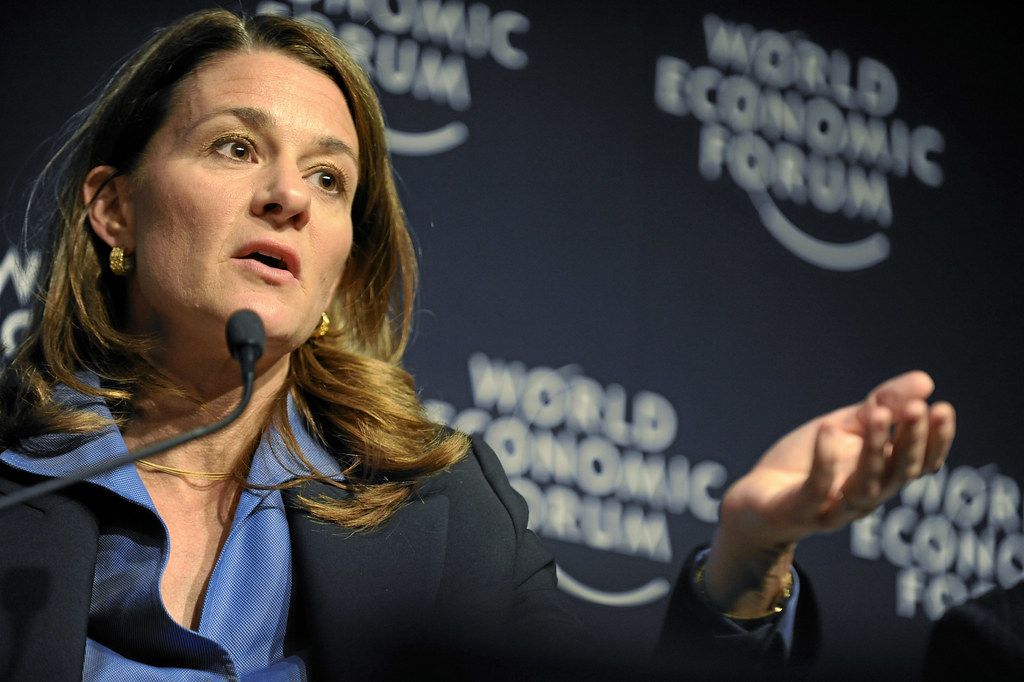 Melinda French Gates - World Economic Forum Annual Meeting Davos 2008