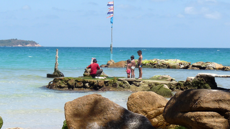 Koh Samui Chaweng Beach South End - コサムイ チャウエンビーチ南端2