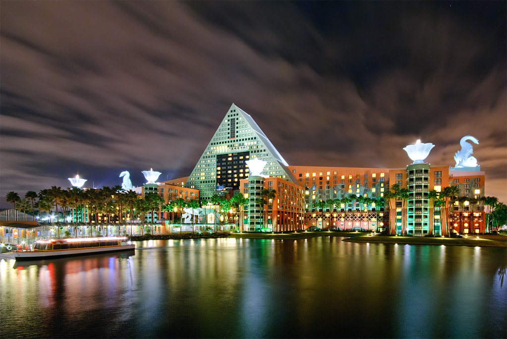The Walt Disney World Dolphin Hotel