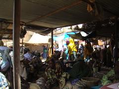 mercado de frutas y verduras Djenne Mali 12