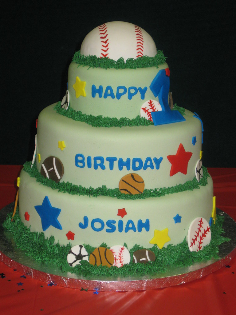 Strange All Star 1St Birthday Cake Frosted With Emotion Flickr Funny Birthday Cards Online Bapapcheapnameinfo