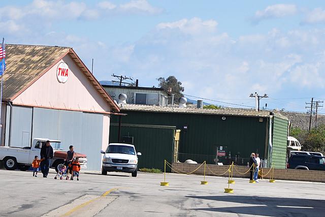 Steve McQueen's hangar