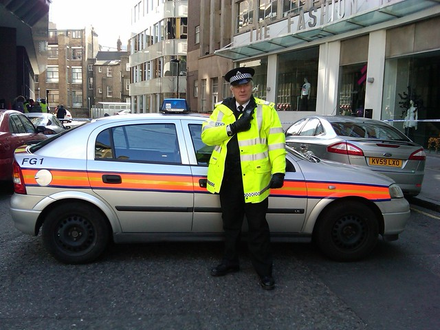 The It Crowd, Police Vauxhall Astra