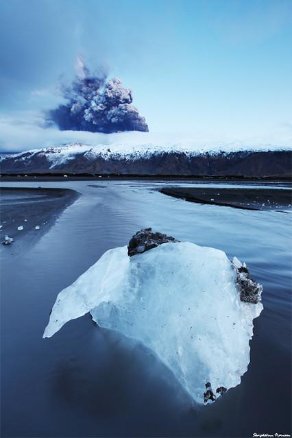 Iceland Under Construction - Volcano Erupting in Eyjafjallajökull