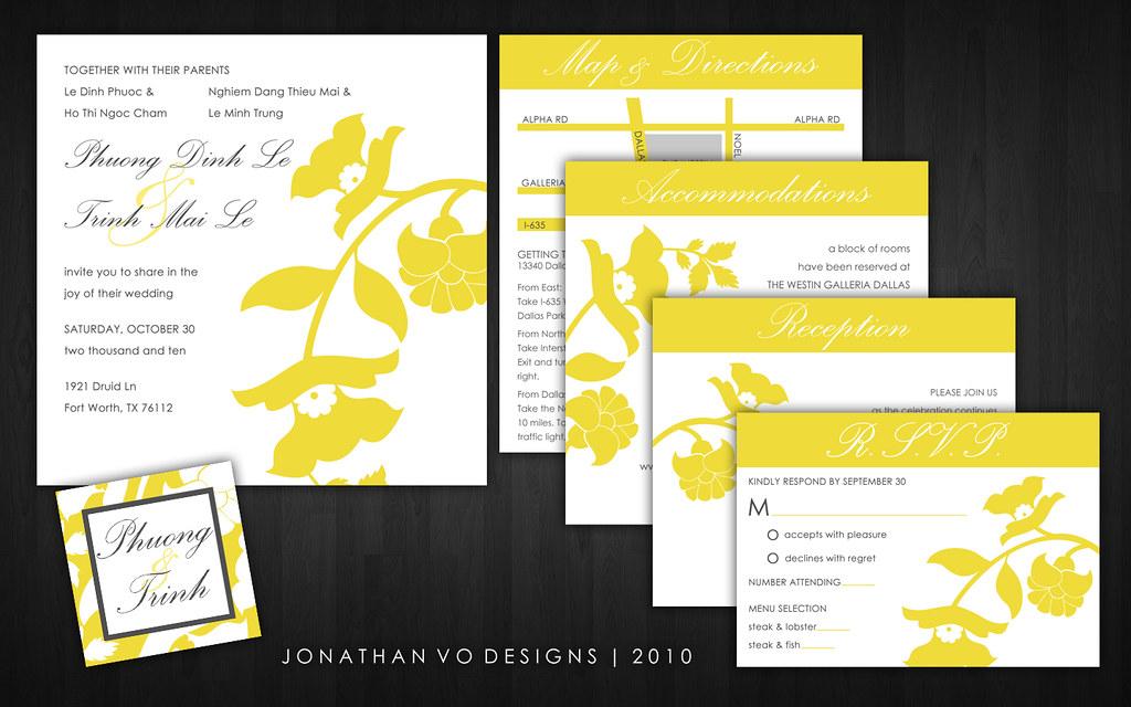 Yellow Grey Wedding Invitations: Yellow And Gray Wedding Invitations