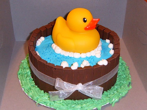 Rubber ducky cake | by Sweet Causes