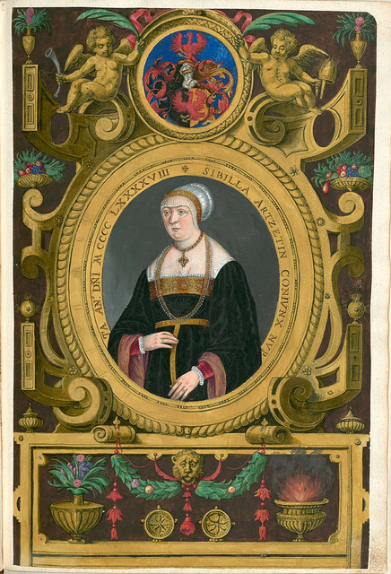 Sibille Artz, wife of Jakob Fugger the rich