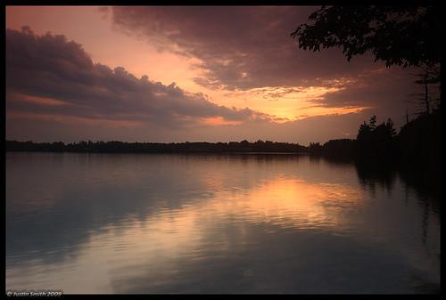 sunset reflection newhampshire nikond50 justinsmith dublinlake nikon1735mmf28