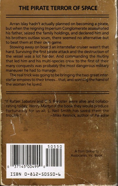 Smith, L. Neil - Henry Martyn - Back (1991 PB)