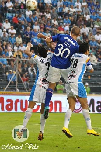 DSC00280 Entrenamiento del Puebla FC de cara a su enfrentamiento con Monterrey por LAE Manuel Vela