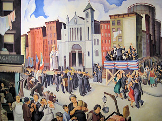 Festival - 1934 New Deal Painting at Smithsonian American Art Museum