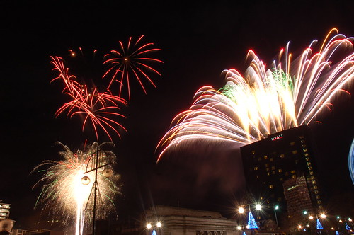 Birmingham Fireworks New Year's Eve 2009