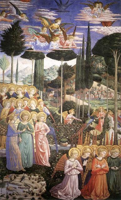 Benozzo Gozzoli - Adoring Angels