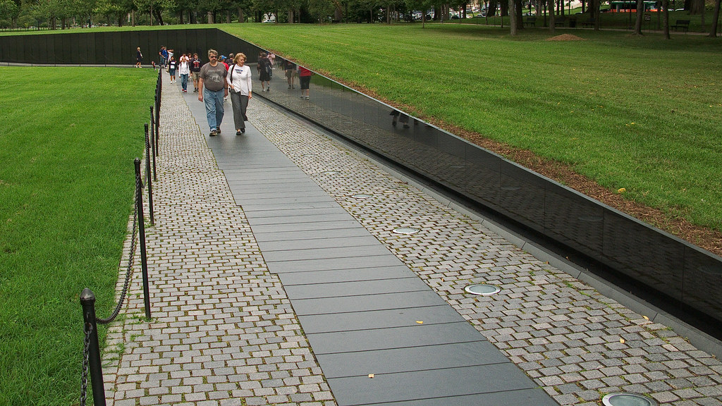 7280 Vietnam Memorial, Washington, DC by John Prichard