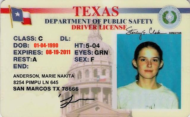 Texas-id-card-new-and-old Flickr Texas-id-card-new-and-old Gthnjtym Flickr Gthnjtym
