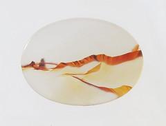 Tabular Cut Landscape Agate / 1   by Scott Schreiber Jewelry Design