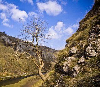 All alone in Dovedale