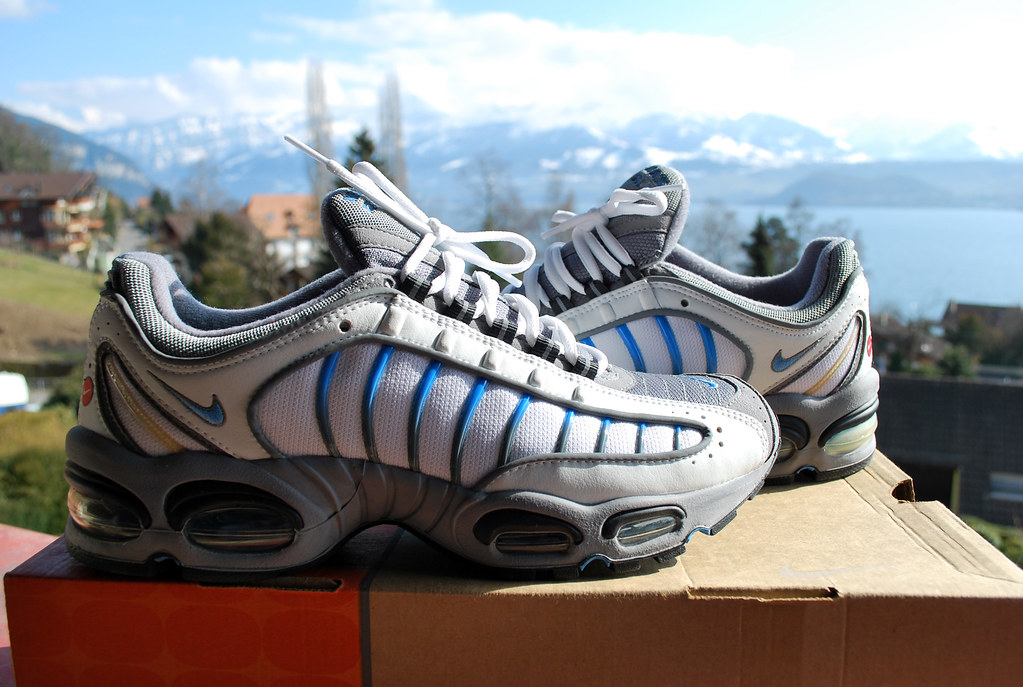big sale 8bd34 9614f 1999 Nike Air Tailwind B | Wht/Coast-Cool Gry-Dk Charcoal ...