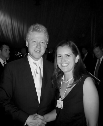 Bill Clinton And Estelle Metayer