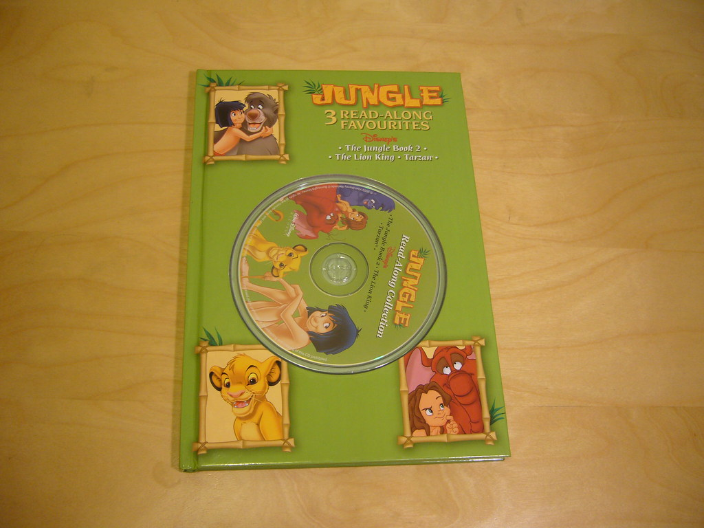 The Jungle Book 2 The Lion King And Tarzan 3 Read Along E