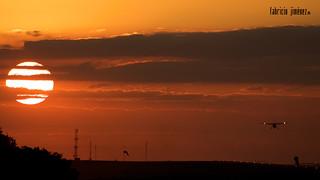 Caravan Sunset Arrival