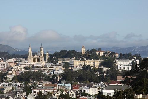 University of San Francisco from Twin Peaks | by shawncalhoun