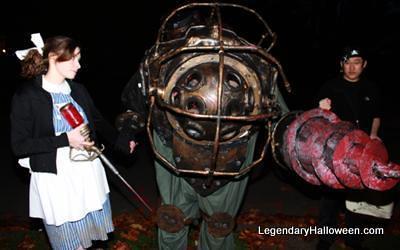 Bioshock Big Daddy And Little Sister Love Costume Bioshock