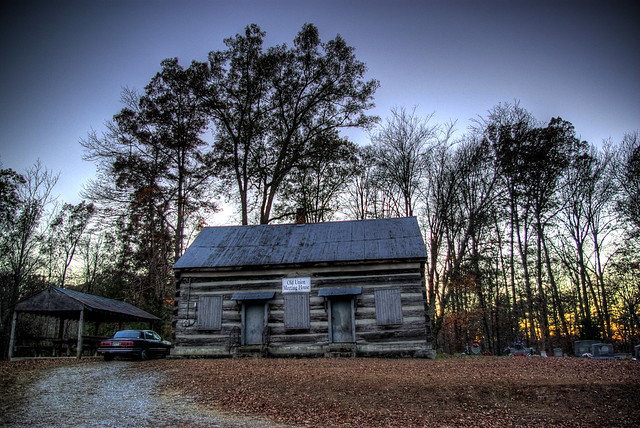 Old Union Meeting House, Overton Co, TN