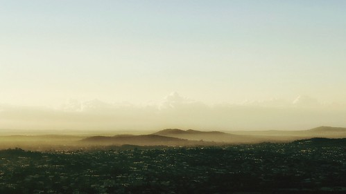 landscape queensland australia mountaintop view brisbane fog mist earlymorning sky weather morning mountainmist snapseed iphone7plus clouds vsco ipadair michellerobinson editedonipad peaceful scenic golden calm