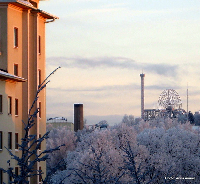 Linnanmäki talvella 2010