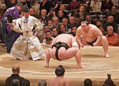 Sumo - Yokozuna Asashoryu | by davidgsteadman