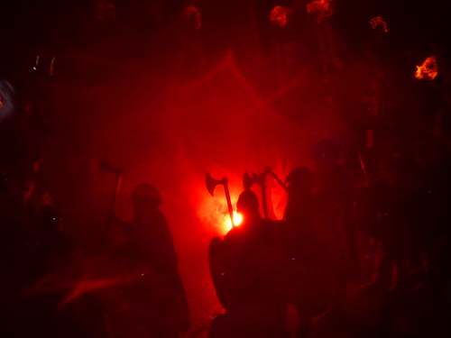 Up Helly Aa procession just about to start | by CaptainOates