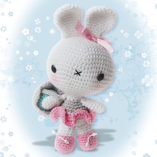 Crochet Easter Egg Bunny - Crochet 365 Knit Too | 640x640
