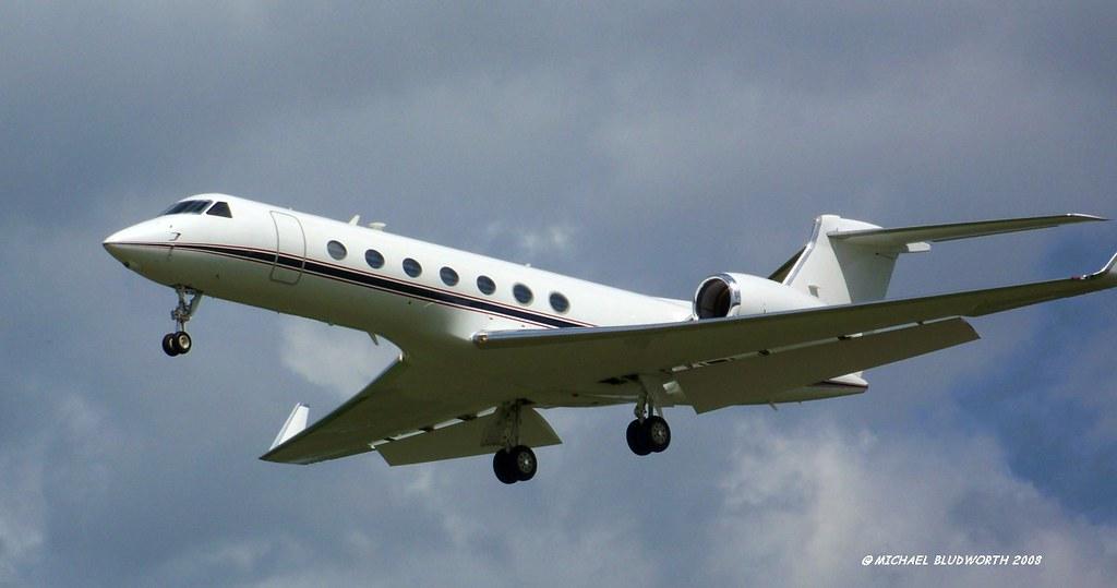 Gulfstream 5 Nxxxx HOU 005 | Registration unknown - can