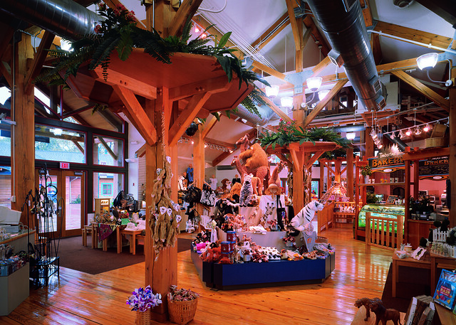 Toledo Zoo Timber Frame Building - Gift Shop 2 | You can lea