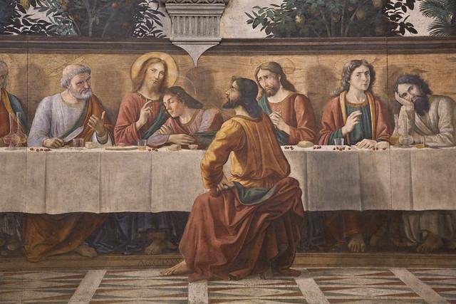 Last Supper Ognissanti 1480-2