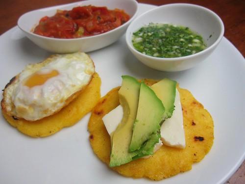aji colombiana, hogao & arepas | by SeppySills