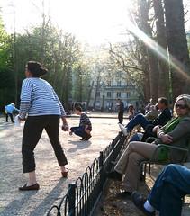 Boule in Jardin de Luxembourg
