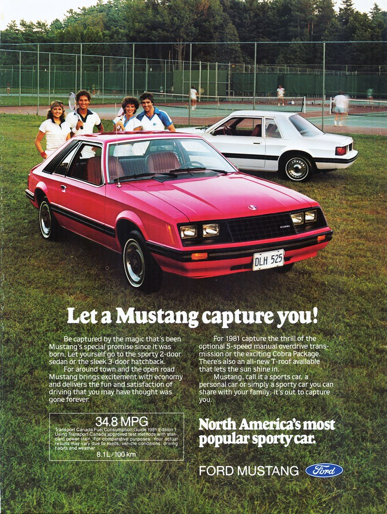 1981 ford mustang ad canada alden jewell flickr