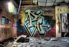 brick yard graffiti by nerradk