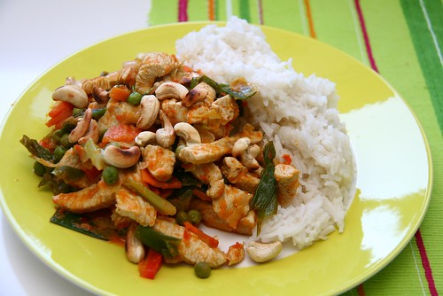 Asian: Turkey, Vegetables & Rice | by Katrin Gilger