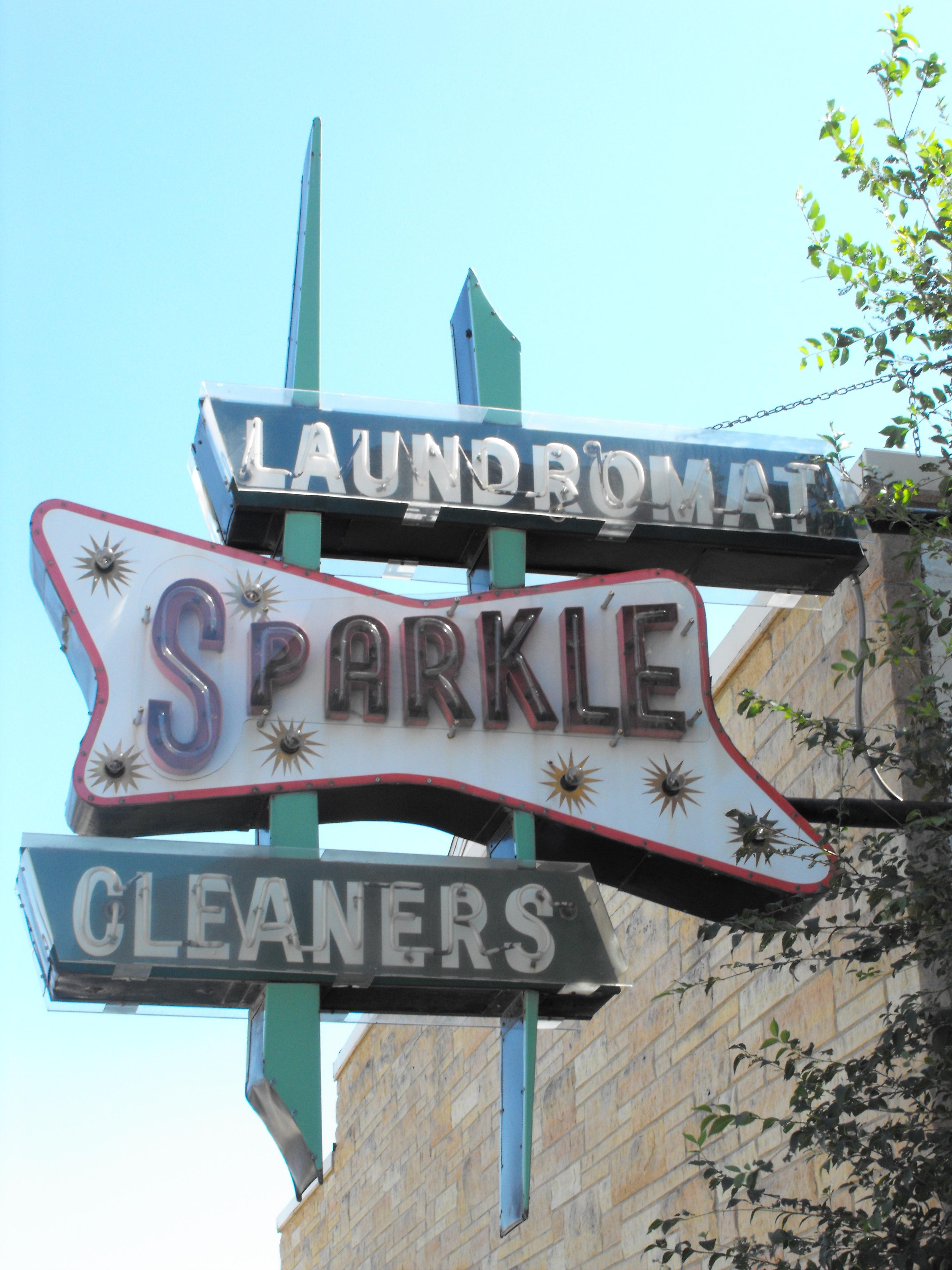 Sparkle Cleaners Laundromat - 225 East Walnut Street, Oglesby, Illinois U.S.A. - September 20, 2009
